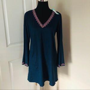 THML bell sleeve dress